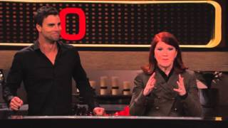 Colin Egglesfield & Kate Flannery 20K Win!!! | Celebrity Name Game