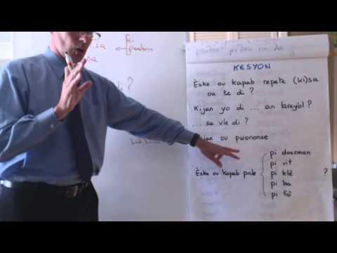 Haitian Creole lesson 9 - conversation, relative pronouns, comparisons