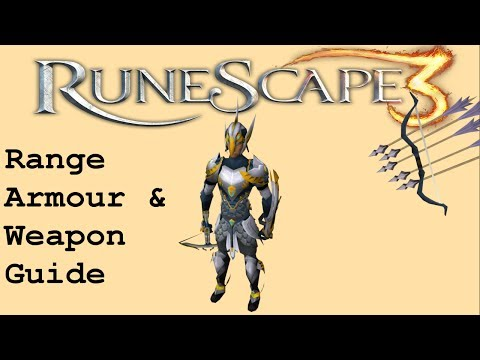 RS3 | F2P | 1-99 | Range Armour & Weapon Guide