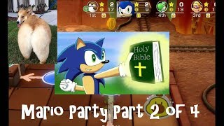 """""""LET'S GET IT STARTED IN HAH"""" ~ Super Mario Party Stream [2 of 4]"""