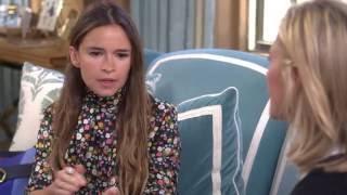 Tory Burch and Miroslava Duma Buro Interview