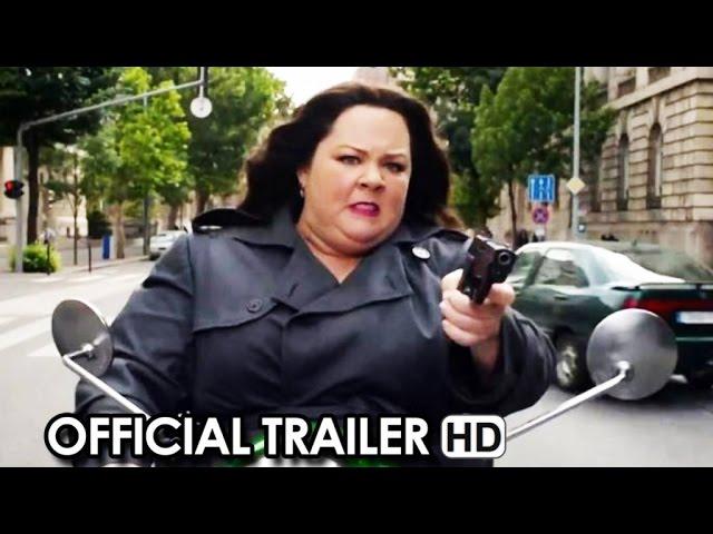 SPY Official Trailer #1 (2015) - Melissa McCarthy, Jason Statham Movie HD