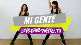 Mi Gente by Armando and Heidy | Zumba® Fitness with Madelle & Kristie | Live Love Party