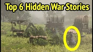 Hidden War Cutscenes in Red Dead Redemption 2 (RDR2): Veterans Stories
