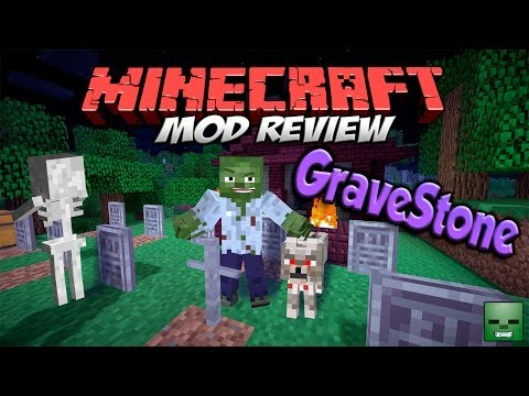 GRAVESTONE MOD - Tumbas y cementerios [Forge][1.7.2]