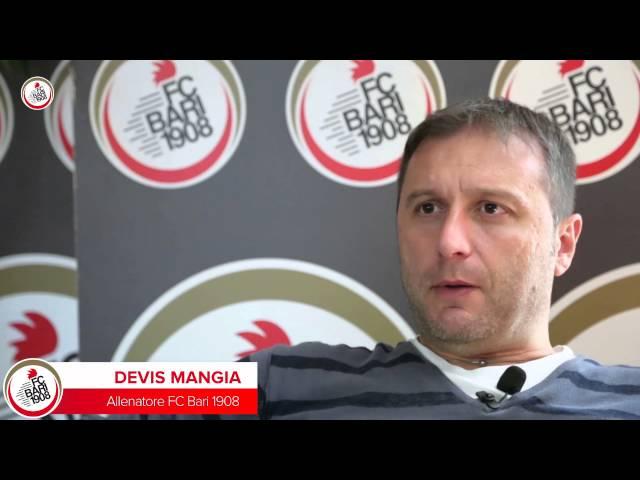 «Palla al Centro»: il punto di Mister Mangia | (Bari-Avellino)