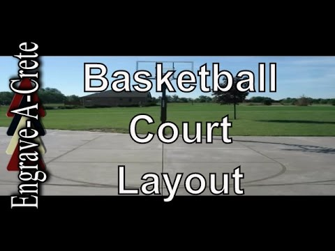 Basketball Court Layout and Installation Instructions