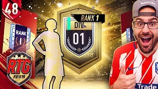 OMG WALKOUT! SUPER RARE D1 RANK 1 FUT RIVAL REWARDS! FIFA 19 Ultimate Team #48 RTG