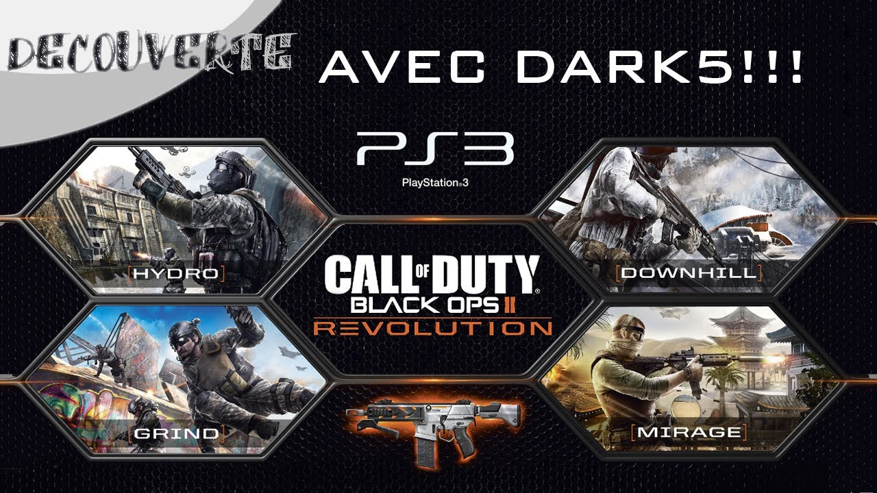 Decouverte Black Ops 2 Pack Revolution Dlc Ps3