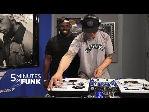 DJ RIZ | #5MinutesOfFunk | #TurntableTuesday97