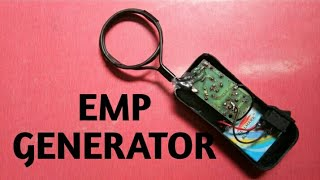 EMP JAMMER | How To Make Emp Jammer