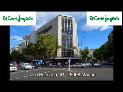 El Corte Ingles Shopping Center Princess. Madrid [IGEO TV]