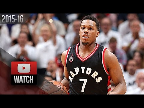 Kyle Lowry Full Game 3 Highlights at Heat (2016.05.07) - 33 Pts, Clutch, BALLING!