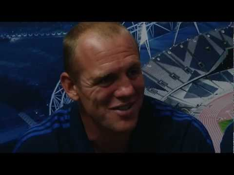 Equestrian silver: Mike Tindall talks about Zara Phillips' success at London 2012