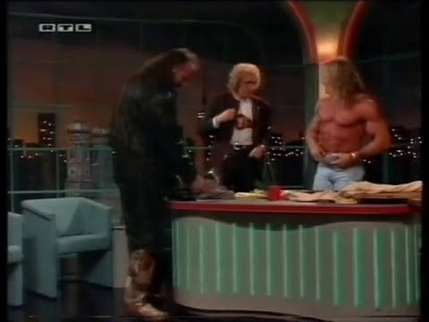 Ultimate Warrior & Jake Roberts @ Gottschalk (german tv, '93)