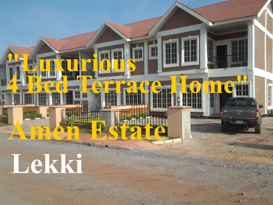 Amen Estate 4 Bed Luxurious Terrace House Lekki Lagos
