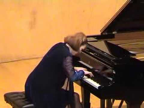 Bach-Marcello, concerto, Isabelle Oehmichen, piano. Video