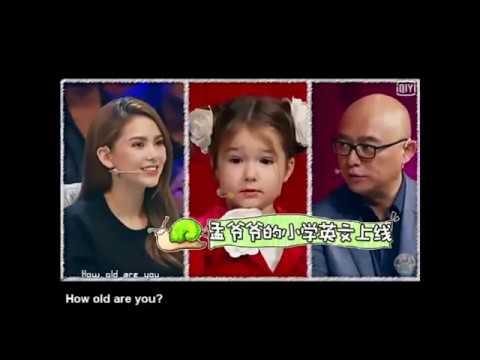 Белла Девяткина на китайском ТВ