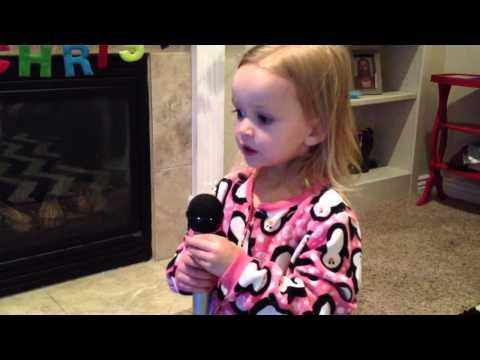 Chloe sings Let it Go