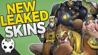 Overwatch NEW LEAKED SKINS - Winston is Sun Wukong! Also Zenyatta, Roadhog, and Reinhardt