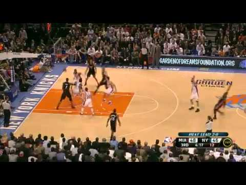 Game 3 Miami Heat vs. New York Knicks 87-70 NBA 2012 First Round Playoffs