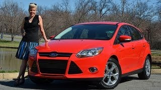 Ford Focus 2012 Test Drive Car Review by RoadflyTV with Emme Hall