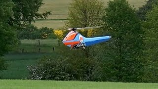 WORLD RECORD RC HELI SPEED-FLIGHT 311 KMH 193 MPH DIABOLO-S / Bad Wünnenberg Germany 2016