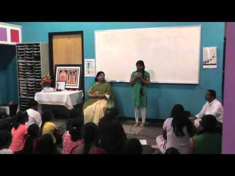 Dr Shobha Raju teaches Sri Nandakaya Vidmahe Sri Sadaa Saya Dhimahe Tannur Namah Prachodayaath!