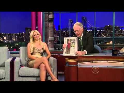 Paris Hilton David Letterman Show - Sexy