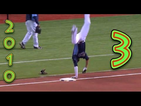 Funny Baseball Bloopers Of 2010, Volume Three