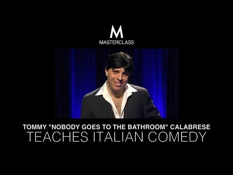 MASTER CLASS: ITALIAN COMEDY