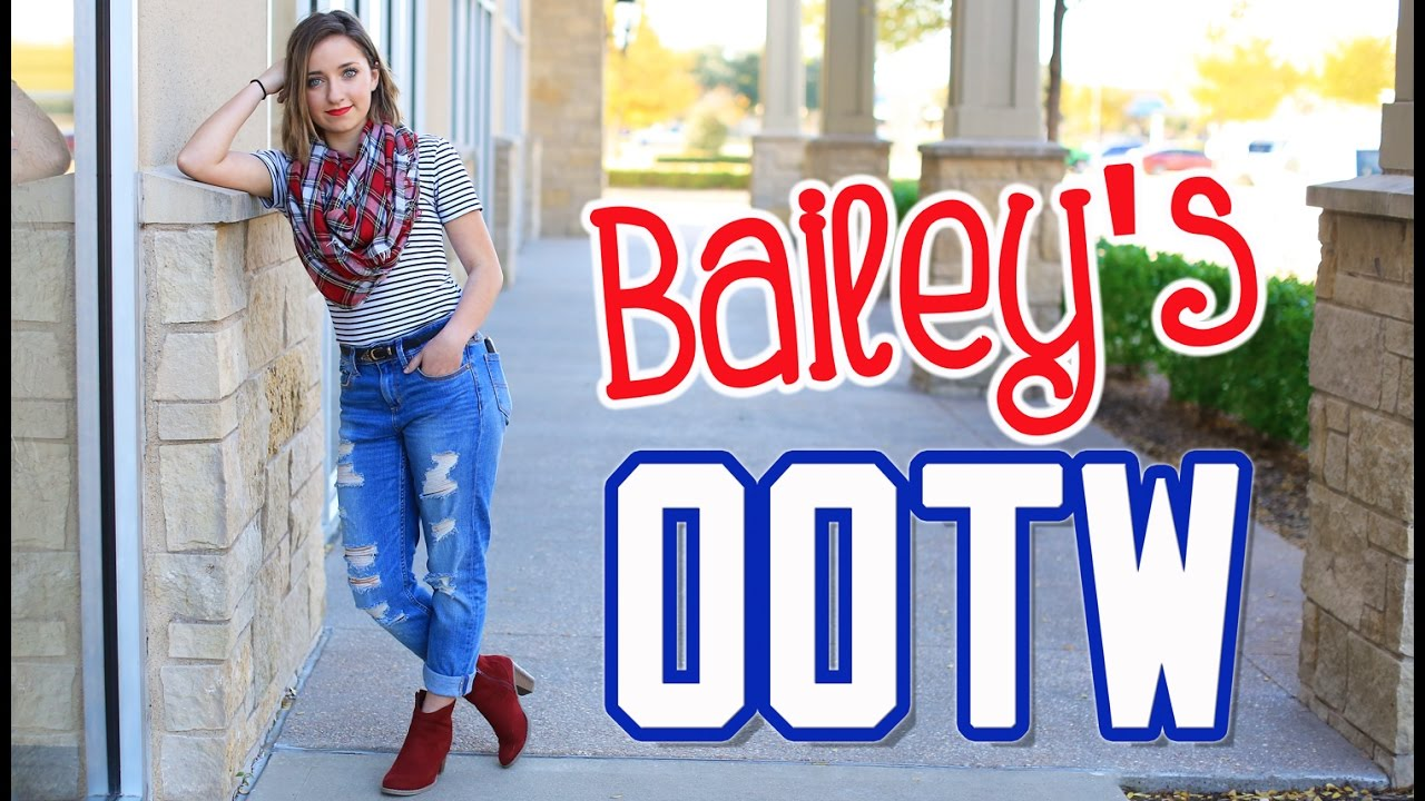 Bailey's Outfits of the Week (OOTW) | Fall Style Lookbook | Brooklyn and Bailey