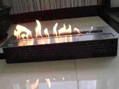 Ethanol burner, ventless ethanol fireplaces remote ...