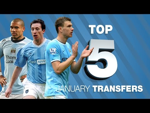 Top 5 January Transfers | Manchester City