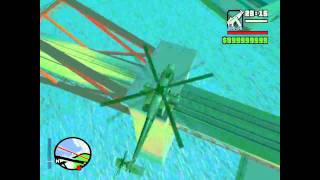 Grand Theft Auto SA: Jak zdobyć/Odnaleźć miniguna w gta sa