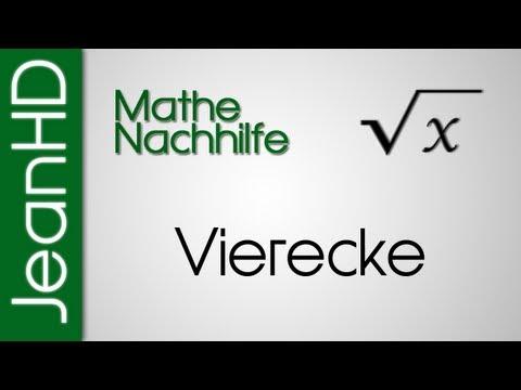 Mathe Nachhilfe - Vierecke