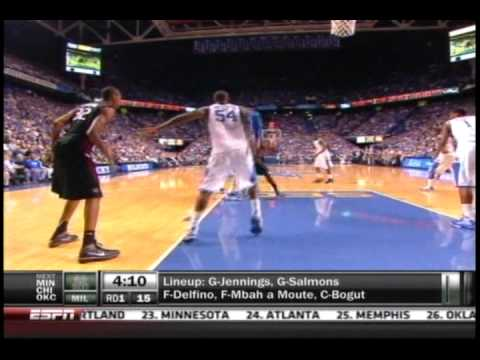 Houston Rockets select Kentucky's Patrick Patterson (2010 NBA Draft, #14) Video