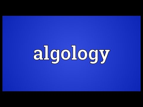 Header of algology