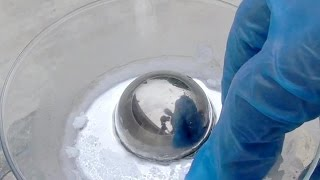 Freezing the Liquid Metal Mercury - SOLID