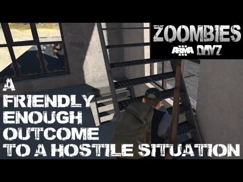 Zoombies (Arma 3 DayZ) - A friendly enough outcome to a hostile situation