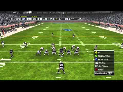 Madden NFL 12 Ultimate Team Walkthrough - Part 2 (Our First Game!)