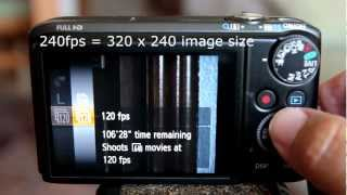 Canon PowerShot SX260 Super Slow Motion Video Samples