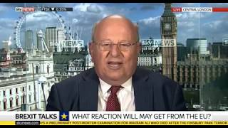 Sky News: Mike Gapes shares views on Brexit talks