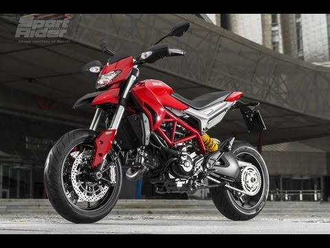 Ducati Hypermotard 2013 First Ride