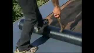 Low Slope Roofing - Installing Liberty Base Sheet