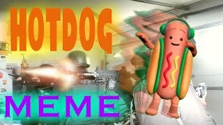 ALMOST KILLED BY HOTDOG MEME (WITH ANIME TIDDES) | NOT CLICKBAIT