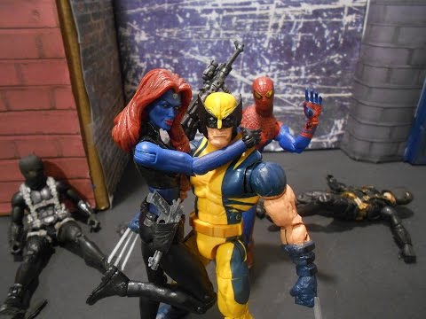 Wolverine Spiderman team up SwagWav Legacy of Stop Motion Contest Entry