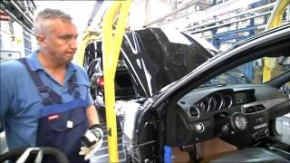 Production Mercedes C-class w204. Plant in Sindelfingen.