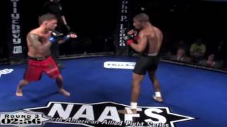 Cody Garbrandt Knocked Out Cold