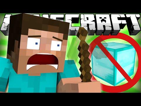 If Diamonds were Invisible - Minecraft